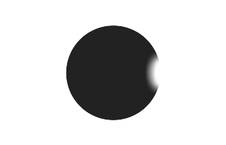 Total solar eclipse of 05/03/1715