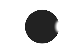 Total solar eclipse of 03/02/2166