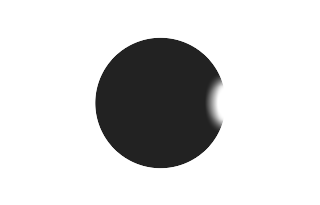 Total solar eclipse of 03/03/2193