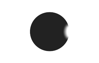 Total solar eclipse of 03/23/2536