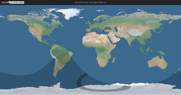 Solar Eclipse of 01/26/1990